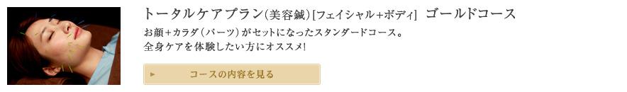 トータルケアプラン(美容鍼)ゴールドコース